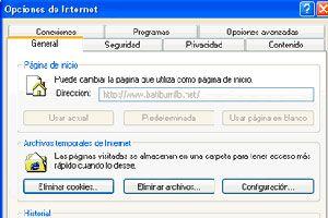 Ilustración de Cómo bloquear la página de inicio de Internet Explorer