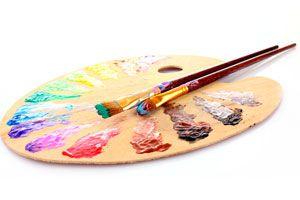 Ilustración de Cómo Pintar con óleos