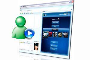 Ilustración de Como compartir y ver videos en Messenger