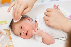 Ilustración de Cómo cuidar la piel del bebé
