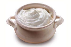 Cómo preparar nata o crema agria