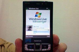 Ilustración de Cómo instalar Windows Live Messenger en un Nokia Nseries