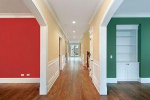 Ilustración de Cómo decorar un pasillo