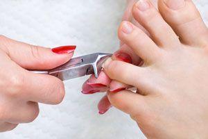Ilustración de Cómo cortarse las Uñas de los Pies