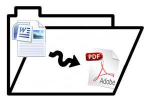 Ilustración de Cómo pasar archivos de Word a PDF