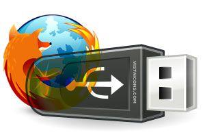 Ilustración de Descargar Mozilla Firefox Portable para memorias USB