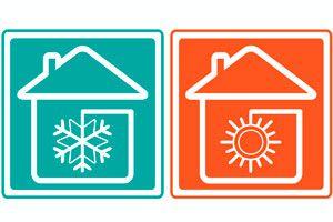 Ilustración de Cómo evitar corrientes de aire en el hogar