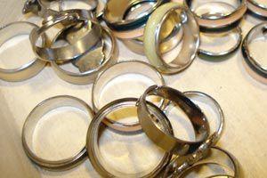 Cómo guardar los anillos