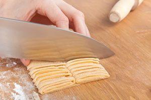 Cómo cortar distintas pastas caseras