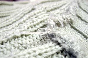 Cómo reciclar tejidos de hilo o lana