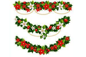 cmo decorar con guirnaldas en navidad - Guirnaldas De Navidad