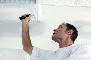 Ilustración de Cómo pintar un techo