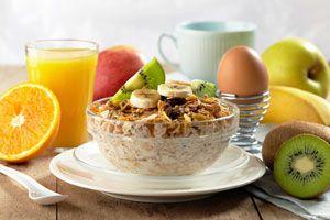 Ilustración de Cómo preparar un Desayuno Saludable