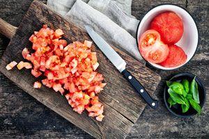 Cómo preparar tomate concassé