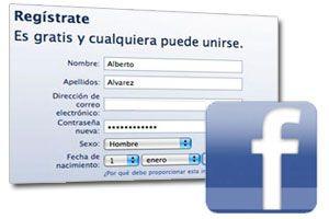 Ilustración de Cómo Crear una Cuenta en Facebook
