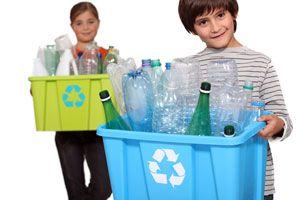 Ilustración de Cómo Reciclar en Casa