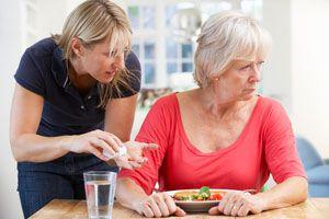 Ilustración de Cómo cuidar a un enfermo de Alzheimer