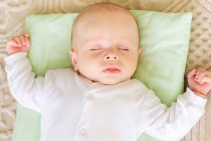 Ilustración de Cómo lograr que mi bebé tenga una rutina de sueño