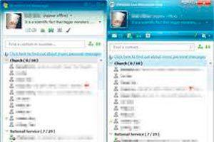 Ilustración de Cómo iniciar varias sesiones de MSN al mismo tiempo