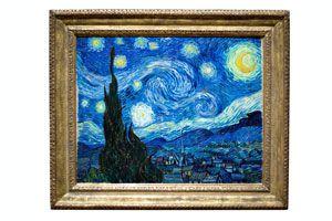 Ilustración de Cómo apreciar una pintura de Vincent Van Gogh