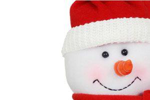 Ilustración de Cómo hacer un muñeco de nieve sin nieve