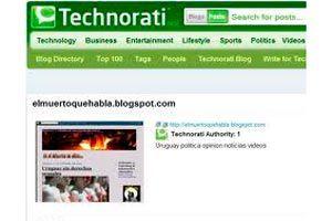 Qué es y cómo formar parte de Technorati