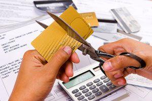 Ilustración de Cómo liberarse de las tarjetas de crédito