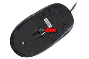 Ilustración de Cómo limpiar un mouse óptico