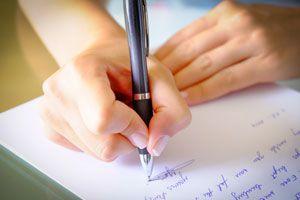 Ilustración de Cómo escribir una carta formal