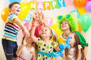 Ilustración de Cómo organizar Juegos en los Cumpleaños