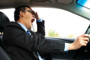 Ilustración de Como evitar dormirse al conducir