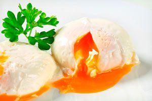Ilustración de Cómo Preparar Huevos Poche