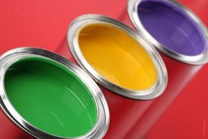 Ilustración de Cómo utilizar los diferentes tipos de pintura