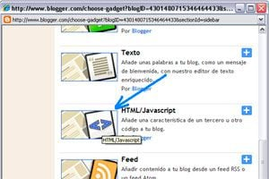 Cómo agregar un código HTML a blogger
