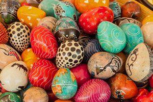 Método para pintar piedras con la técnica de flotado. Cómo crear objetos decorativos con piedras pintadas.