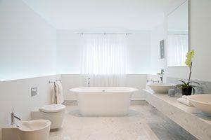 Cómo pintar los baños