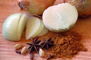 Cómo preparar cebollas anisadas