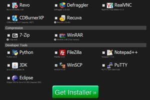 Descargar los programas más usados en un solo sitio