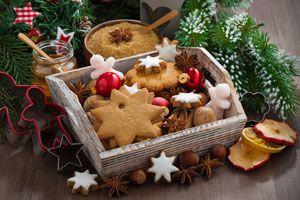 Tradicionales galletas navideñas