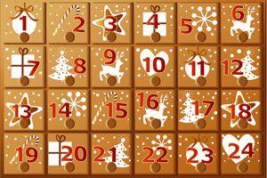 Cómo hacer un calendario para esperar las fiestas