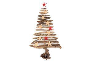 Cómo hacer un pino navideño con varas y madera. Una idea original para crear un árbol de navidad con objetos de madera rígidos