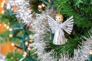 Ilustración de Cómo hacer ángeles para el Pino de Navidad