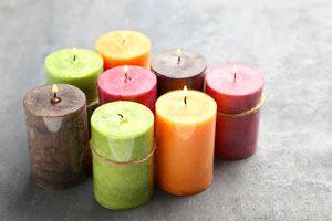 Ilustración de Cómo elegir el color de las velas para Navidad y Año nuevo