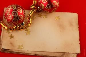 tarjetas navideas realizada con los nios