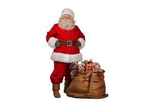 Ilustración de Cómo hacer un disfraz de Papá Noel económico