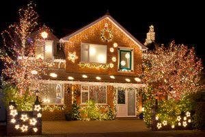 Cómo Comprar Luces de Navidad para el Exterior