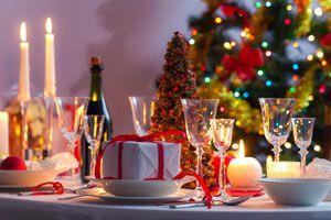 Centros de Mesa Reciclados para la Cena de Navidad