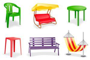 Cuidados de los muebles de jardín. Mantenimiento y cuidados de los mubles de jardín de PVC, caño y madera