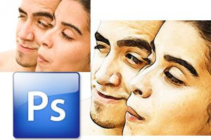 Cómo crear un dibujo a partir de una foto con Photoshop. Efecto dibujo a partir de una fotografía con Photoshop.