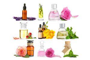 Ilustración de Propiedades de las Esencias o Aceites Florales